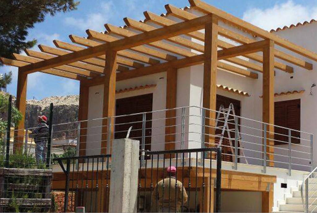 Per la di tutte le coperture vengono impiegate risorse di - Coperture per tettoie esterne ...